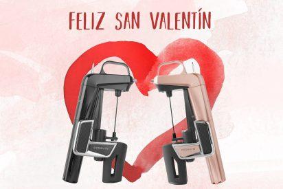 Coravin, en San Valentín, longevidad al amor y al vino