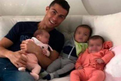 El gran susto de Cristiano Ronaldo con uno de sus mellizos que acabó en Urgencias