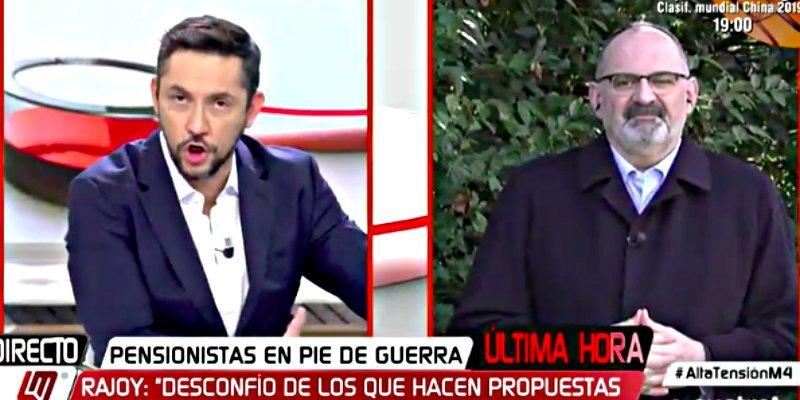 El 'frikie' Antón Losada enloquece e incendia CuatroTV con su ataque más brutal al Rey Felipe