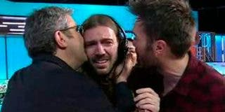 Dramón en 'Dani&Flo' cuando el regidor rompe a llorar en directo tras la cancelación del programa