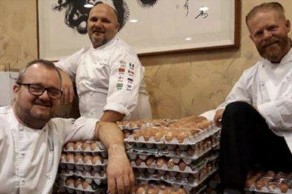 Juegos Olímpicos de Invierno: Un error de traducción llena de huevos la delegación de Noruega
