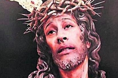 Multa de 480 euros por subir a las redes un fotomontaje con la cara de Cristo