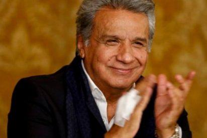 Lenín Moreno bloquea a Rafael Correa