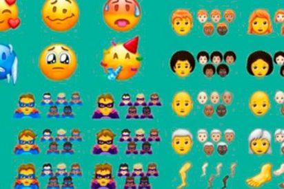 Así son los 157 nuevos emojis que pronto podrás usar en tu móvil