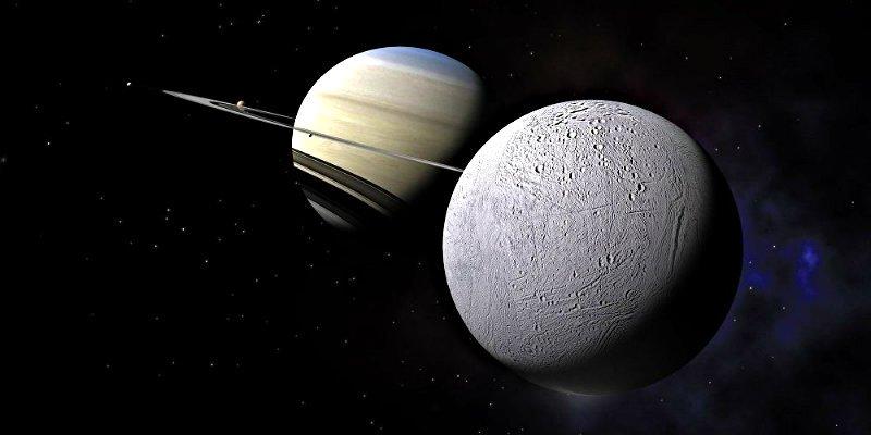 La luna Encélado tiene condiciones para ser habitada por microbios que viven en la Tierra