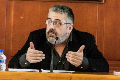 """El alcalde socialista matón que amenaza a un edil del PP: """"Que quede grabado, te parto la cara, bonito"""""""