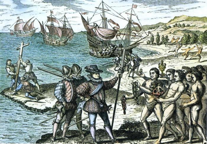 Los españoles hacían la guerra y también la paz con los indios de Carolina del Norte en el siglo XVI