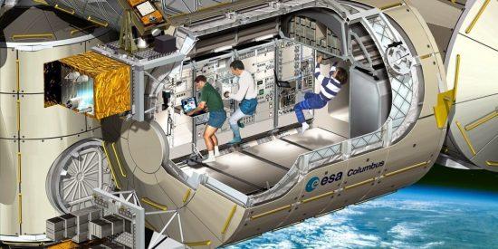 La Estación Espacial amplia el espacio para la iniciativa privada y los emprendedores