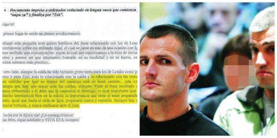 La reveladora carta que el amigo magistrado de Zapatero 'ocultó' para aflojar 50.000 euros a los etarras de la T-4