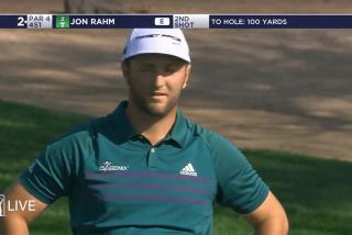 Jon Rahm se queda sin palabras con este golpe