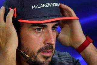 Fernando Alonso contento con su nuevo coche
