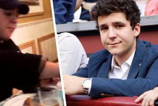 Froilán se pone morado en un restaurante asturiano muy de moda