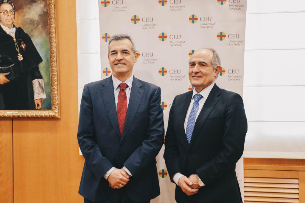 Convenio de colaboración entre el CEU y la Fundación Luca de Tena