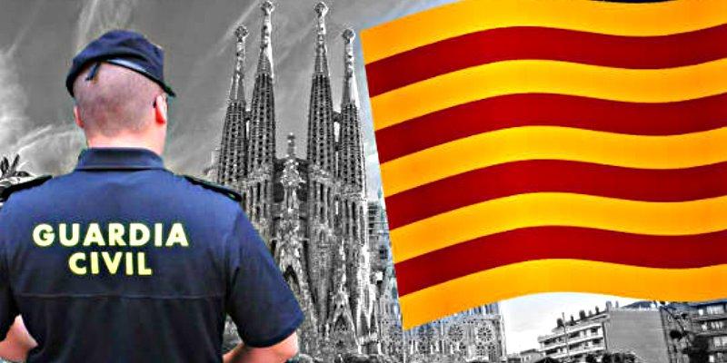 """La Guardia Civil: """"El 1-O en Cataluña fue delincuencia organizada"""""""