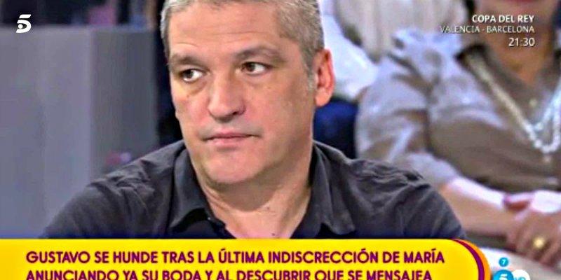 Gustavo González se pone como una moto cuando María Lapiedra habla de 'boda'