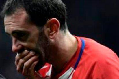 El Atlético encuentra dos dientes perdidos de Godín antes de la nevada