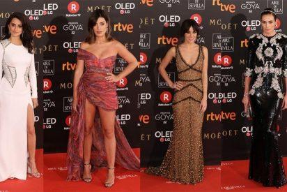 Los Goya 2018: los mejores looks de ellas, color e indirectas