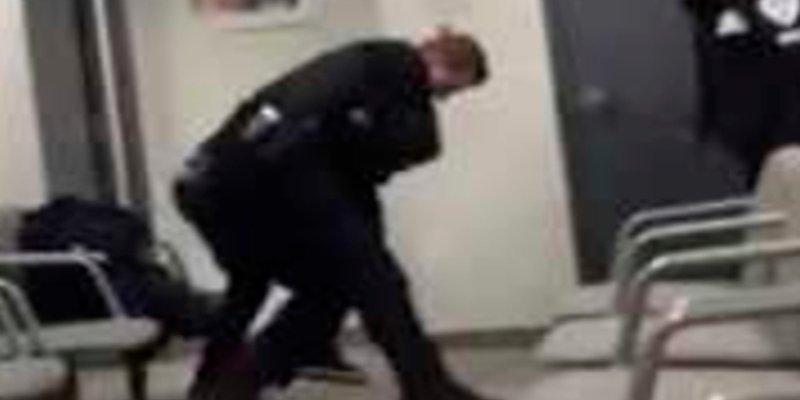 Así le pega un tiro en la cabeza este guardia de seguridad a un adolescente en Canadá