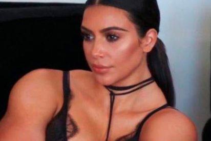 Kim Kardashian por fin presenta a su hija Chicago West, con filtro de Snapchat incluido