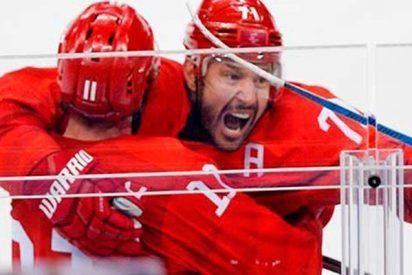 Rusia vence a EE.UU. al hockey en los JJ.OO de Invierno de Pyeongchang