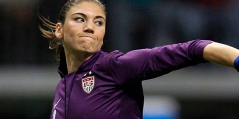 Así es Hope Solo, la feminista que aspira a dirigir la Federación de Fútbol de Estados Unidos