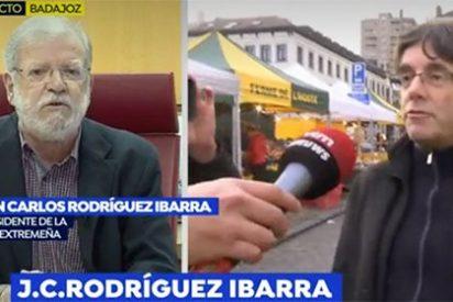 Ibarra deja tiritando a los del 155 y saca pecho contra los golpistas: