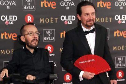 Pablo Iglesias se las da de mártir y desvela el misterio de su 'divino castigo' en los Goya