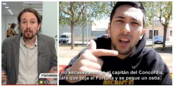 """Pablo Iglesias defiende la libertad de expresión de Valtonyc y un tuitero le masacra: """"¿Y si hubiera cantado hay que matar a la puta madre de Irene?"""""""