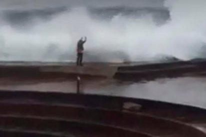 La terrible imprudencia de esta turista pudo haberle costado la vida