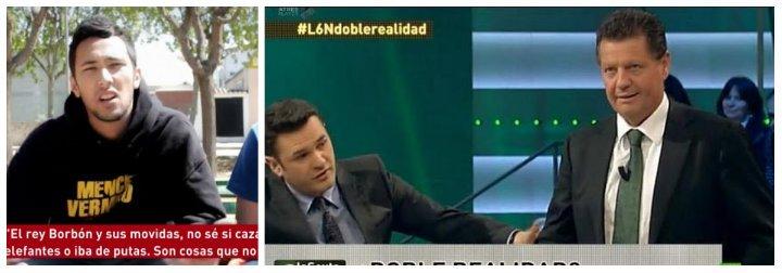 """Twitter ajusticia a Iñaki López: """"Es precioso que el programa que expulsó a un tertuliano por llamar """"gordita"""" a Colau vaya a entrevistar al rapero Valtonyc"""""""