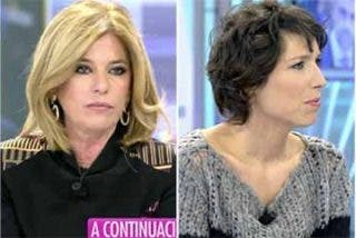 Inda barre de la mesa de Telecinco a los tertulianos que rabian con el himno español de Marta Sánchez