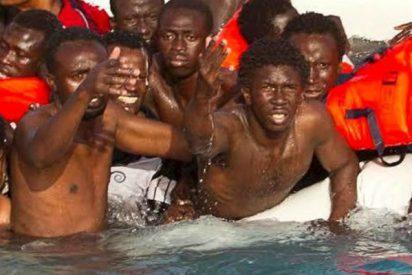 Encuentran más de 20 inmigrantes muertos y flotando en el mar a cuatro millas de Melilla
