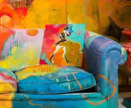 El Street Art de Misterpiro llena de color el universo Johnnie Walker