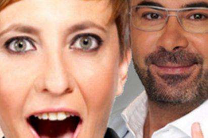 Un 'sobrado' Jorge Javier cuestiona el talento de Eva Hache como humorista
