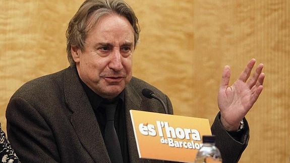 El actor y concejal Puigcorbé se cambia su nombre porque le avergüenza España