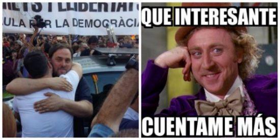 Un infantil Gabriel Rufián provoca risotadas en Twitter con su ridícula carta a 'Lloriqueras' Junqueras