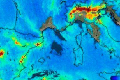 ¿Sabes que la alta contaminación de Madrid ya se ve desde el espacio?