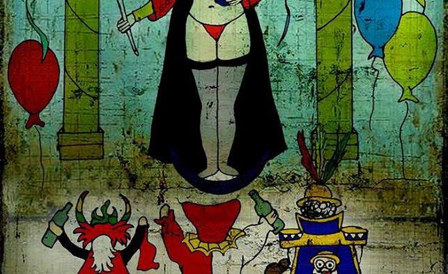 """La 'virgen en tanga' busca desenmascarar a """"los falsos devotos"""""""