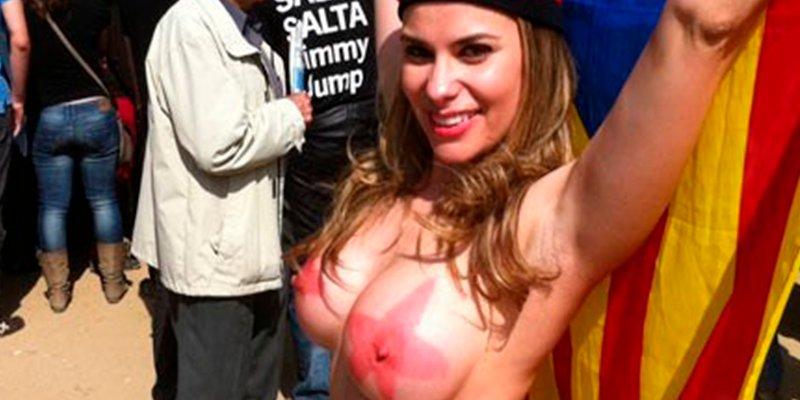 La cachonda María Lapiedra reniega ahora de su pasado independentista