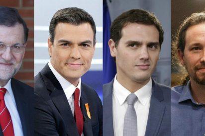 Ciudadanos amplía su ventaja sobre PP y PSOE y se confirma como partido más votado