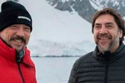 Bardem entregado en la lucha por salvar el océano Antártico