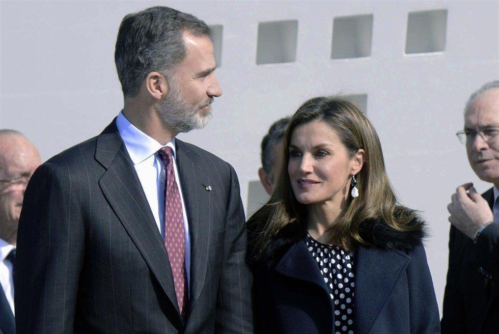 La Reina Letizia se reencuentra con Lorenzo Caprile en Málaga