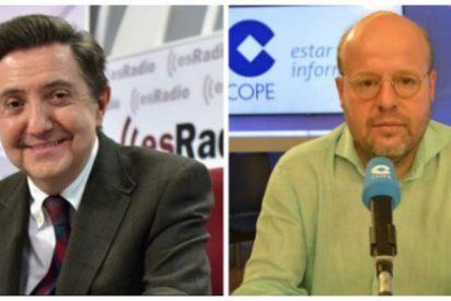 """Losantos hace picadillo al """"majadero e ignorante"""" de Sostres y deja un recadito a COPE"""