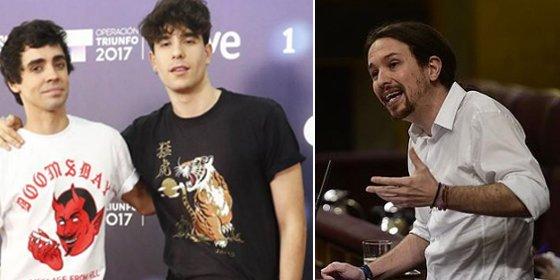 """Pablo Iglesias y algunos profesores y concursantes de 'OT' se ponen como el bicho del pantano con Alfonso Rojo por llamar """"pringado"""" al independentista Alfred"""