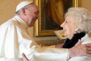 """Estela de Carlotto: """"El Papa está preocupado por lo que pasa en Argentina"""""""