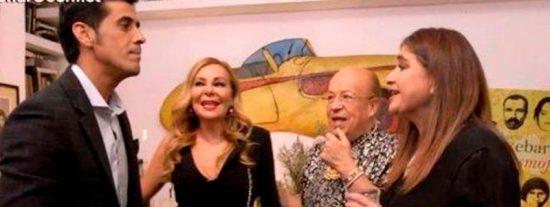 Lucía Etxebarría le falta al respeto a Víctor Janeiro y a su forma de ganarse la vida