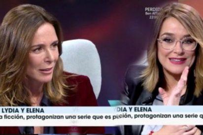 Lydia Bosch deja con el culo al aire a Toñi Moreno