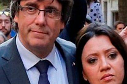 Sandra Golpe ridiculiza a Marcela Topor: el personaje secundario en el vodevil Puigdemot