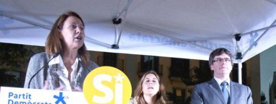Repugnante desafío en Gerona: cambian el nombre de la Plaza de la Constitución por Plaza del 1-O