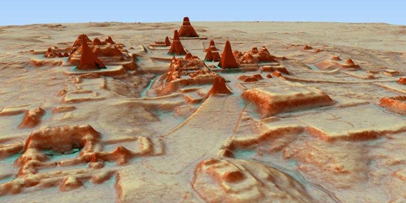 Descubren 60.000 estructuras Maya en Guatemala